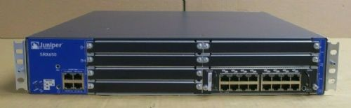 Juniper Networks SRX650 Gateway Security SRX650-BASE-645AP + SRX-GP-16GE